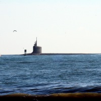 Submarine at Jetty Park