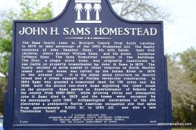 John. H. Sams Historical Marker